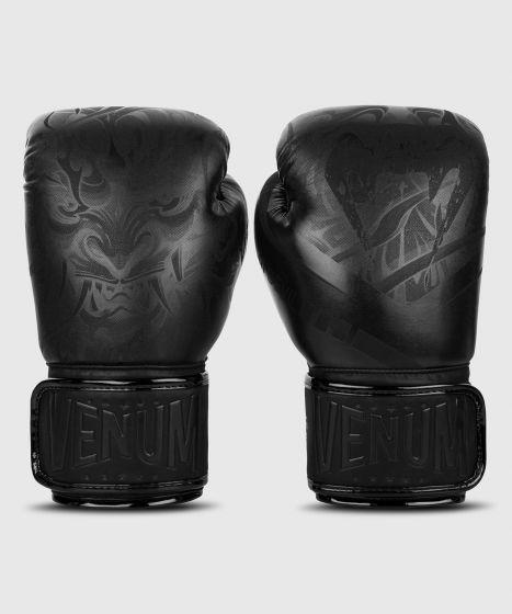 Боксерские перчатки Venum Devil - ЧЕРНЫЙ/ЧЕРНЫЙ