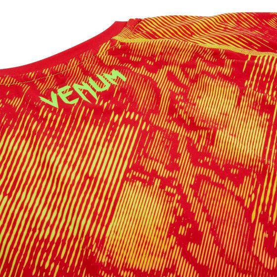 КОМПРЕССИОННАЯ ФУТБОЛКА VENUM FUSION – ДЛИННЫЙ РУКАВ - Orange/Yellow