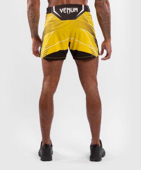 UFC 베넘 어쎈틱 파이트 나이트 남성 쇼츠 - 숏 핏 - 노랑