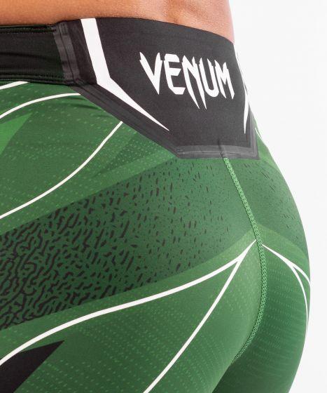UFC Venum Authentic Fight Night Women's Vale Tudo Shorts - Short Fit - Green