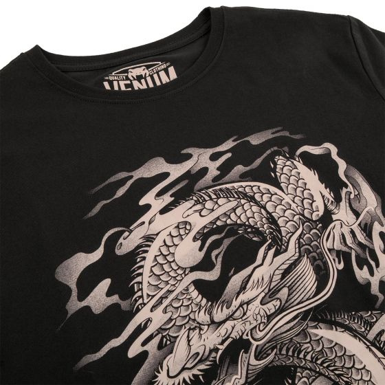 Venum Dragon's Flight T-shirt - Black/Sand