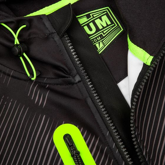 Venum Training Camp 2.0 Hoodie - Black/Neo Yellow