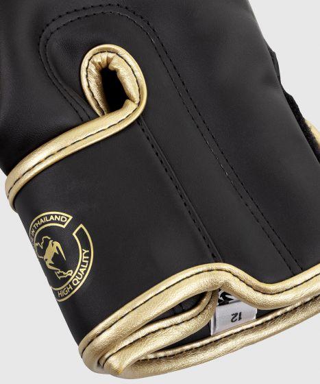 Venum Elite Boxing Gloves - Dark camo/Gold