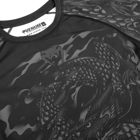 Venum Dragon's Flight Rashguard - Short Sleeves - Black/Black