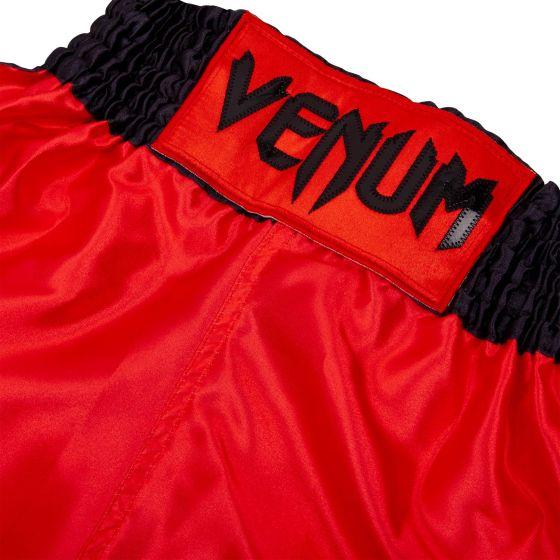 Детские боксерские шорты Venum Elite - Красный/Черный