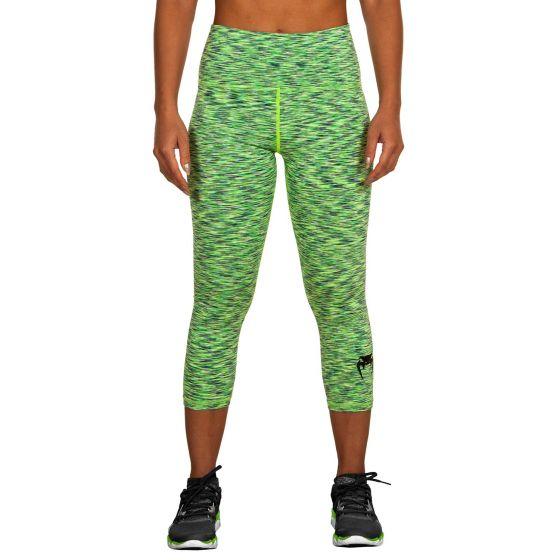 Venum Heather Legging Crops - Green