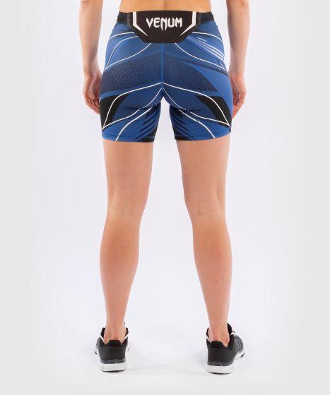 UFC Venum Authentic Fight Night Women's Vale Tudo Shorts - Long Fit - Blue