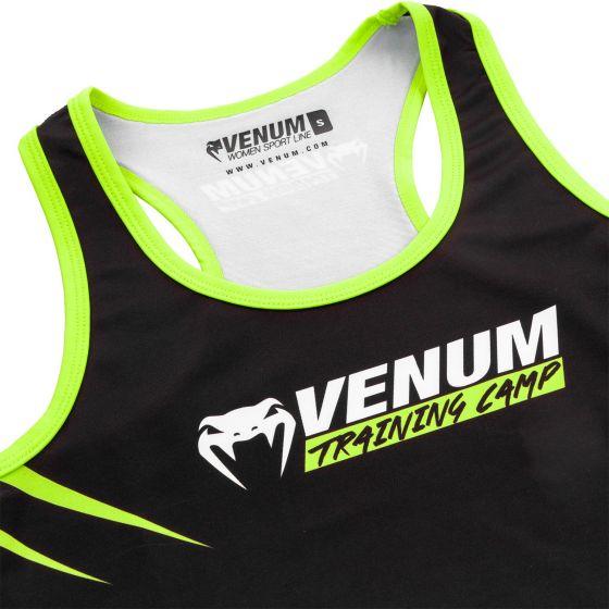 Майка Venum Training Camp 2.0 - Черный/Неоновый желтый