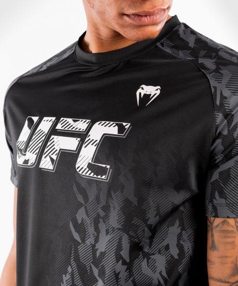 UFC 베넘 어쎈틱 파이트 위크 남성 퍼포먼스 반팔 티셔츠 - 검정