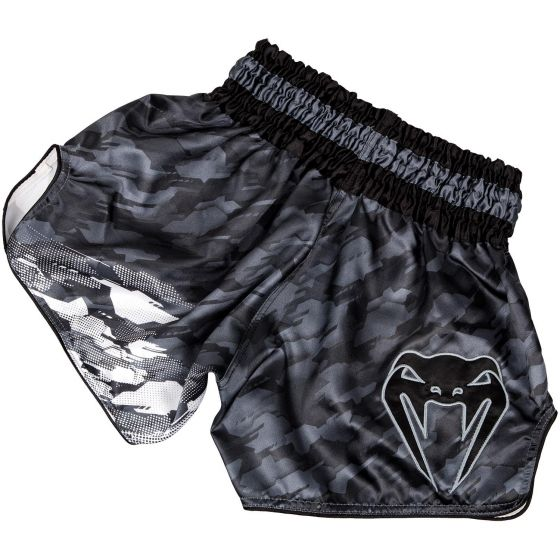 Venum Tecmo Muay Thai Shorts - Dark Grey