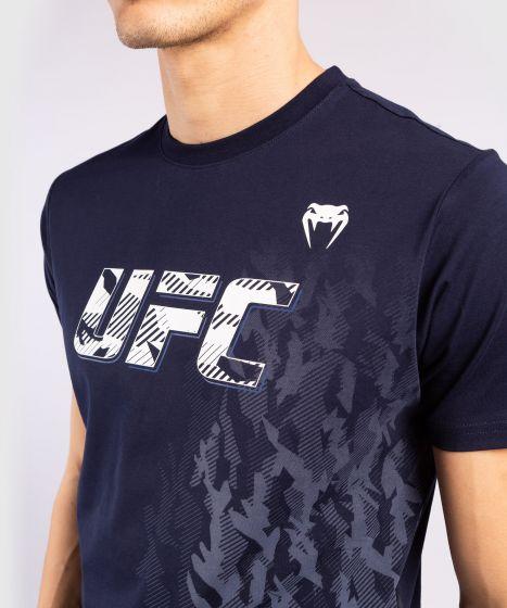 UFC Venum Authentic Fight Week Men's Short Sleeve T-shirt - Navy Blue