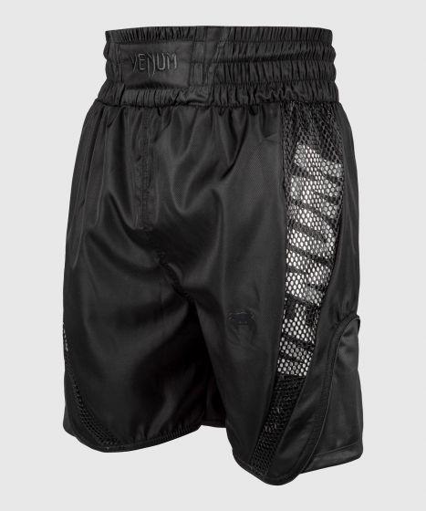 Venum Elite Boxing Shorts - Black/Black