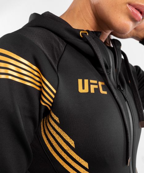 UFC Venum Authentic Fight Night Women's Walkout Hoodie - Champion