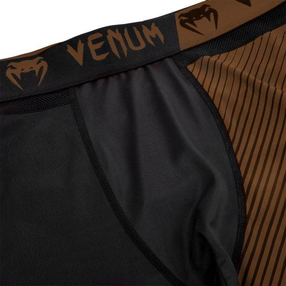 Venum NoGi 2.0 Compresssion Tights - Black/Brown