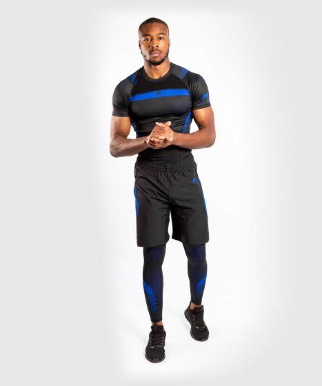 Venum NoGi 3.0 Rashguard - Short Sleeves - Black/Blue
