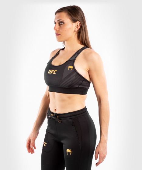 UFC 베넘 어쎈틱 파이트 나이트 여성 스포츠 브라 - 챔피언