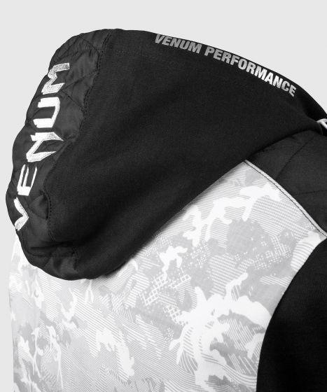 Толстовка Venum Laser Evo  - Белый/Черный