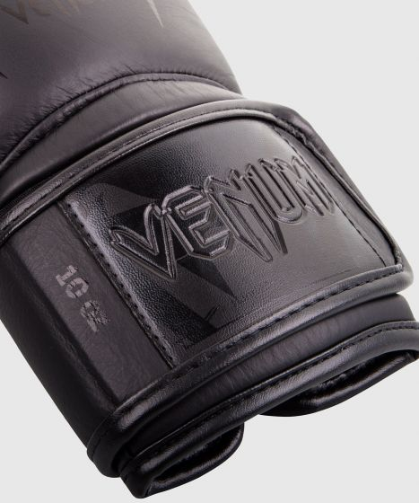 Venum Giant 3.0 Boxing Gloves - Nappa Leather - Black/Black