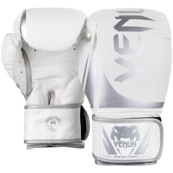 Боксерские перчатки Venum Challenger 2.0  - белые/серебристые