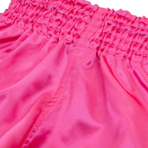 Шорты для тайского бокса Venum Classic - Розовый/Белый