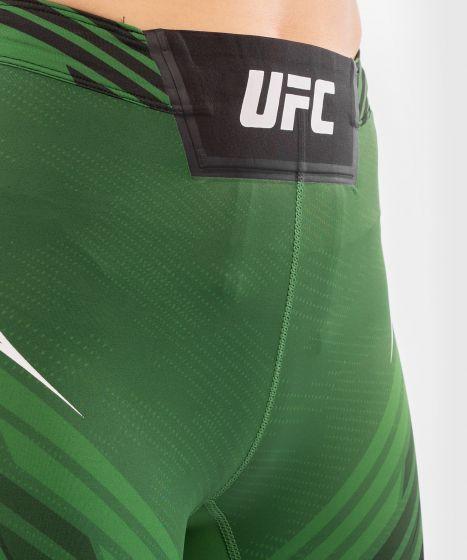 UFC Venum Authentic Fight Night Women's Vale Tudo Shorts - Long Fit - Green