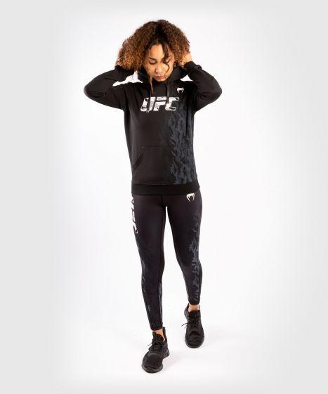 UFC Venum Authentic Fight Week Women's Pullover Hoodie - Black