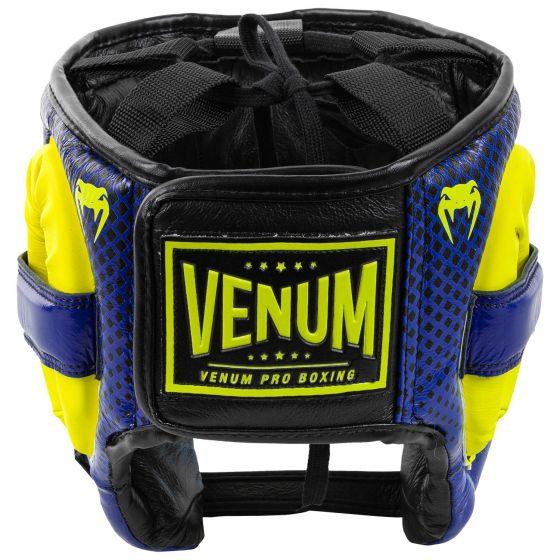 Боксерский шлем Venum Pro Loma Edition — синий/желтый