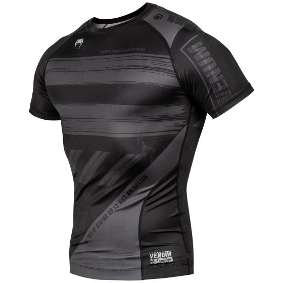 Venum AMRAP Compression T-shirt - Short Sleeves - Black/Grey