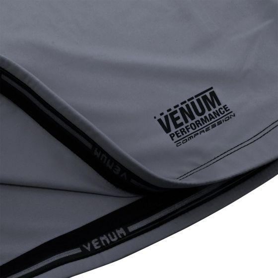 Venum Contender 3.0 Compression T-shirt - Short Sleeves - Heather Grey/Black