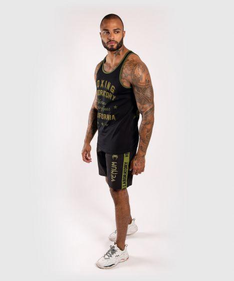 ММА шорты Boxing Lab - Черный/Зеленый