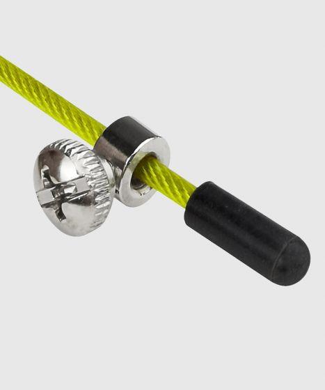 Скакалка Venum Thunder Evo чёрный / жёлтый