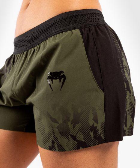 UFC Venum Authentic Fight Week Women's Performance Shorts - Khaki