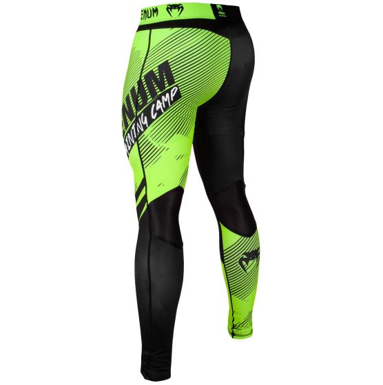 Venum Training Camp 2.0 Compression Tights - Black/Neo Yellow
