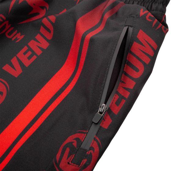 Venum Logos Training Shorts - Black/Red