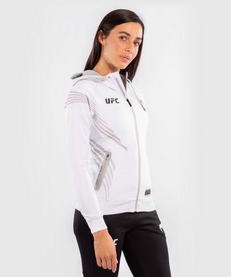 UFC Venum Authentic Fight Night Women's Walkout Hoodie - White