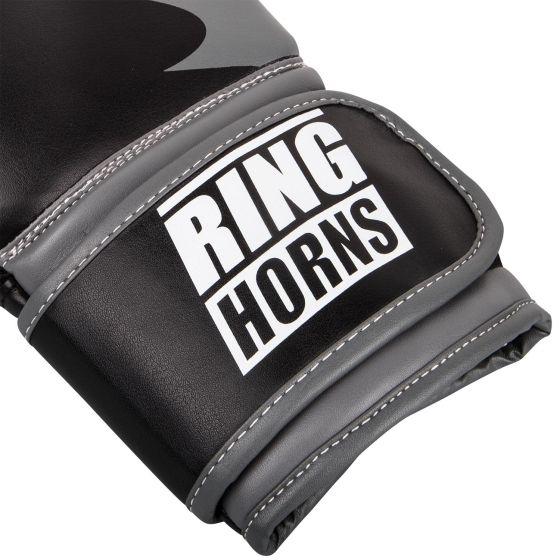 Боксерские перчатки Ringhorns Charger – черные