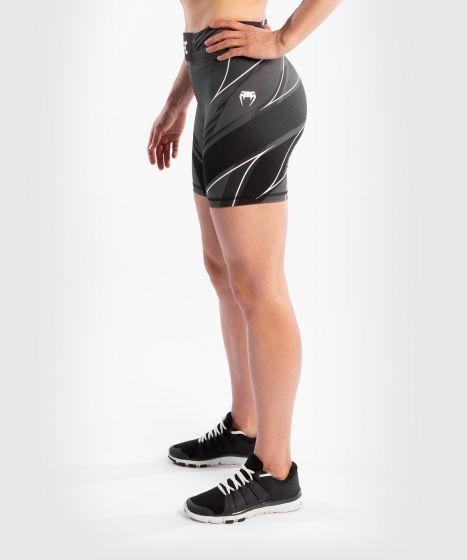 UFC Venum Authentic Fight Night Women's Vale Tudo Shorts - Long Fit - Black