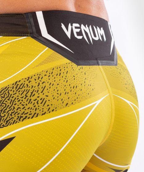 UFC Venum Authentic Fight Night Women's Vale Tudo Shorts - Short Fit - Yellow