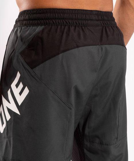 Спортивные шорты ONE FC Impact  - Серый/Желтый
