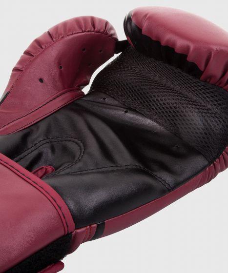 Боксерские перчатки Venum Challenger 2.0 – бордовые/черные