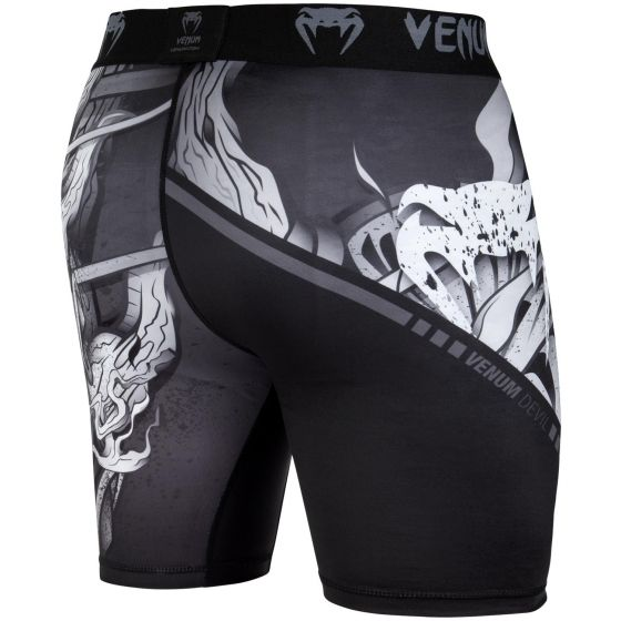 Venum Devil Vale Tudo Shorts - White/Black