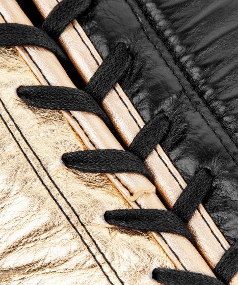 베넘 해머 프로 복싱 글러브 - 끈 포함 - 블랙/골드