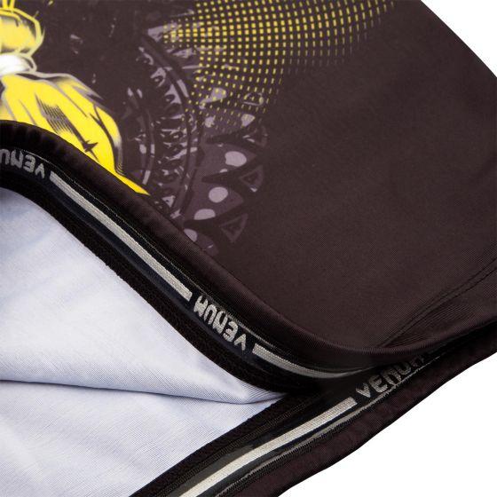 Venum Viking 2.0 Rashguard Short Sleeves - Black/Yellow