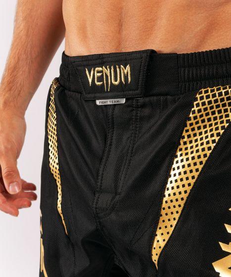 ММА шорты Venum x ONE FC  - Черный/Золотой