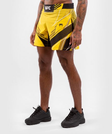 UFC Venum Authentic Fight Night Men's Gladiator Shorts - Yellow