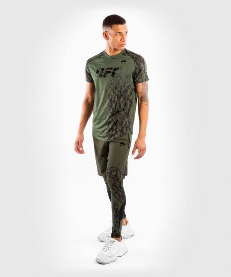 UFC Venum Authentic Fight Week Men's Performance Short Sleeve T-shirt - Khaki
