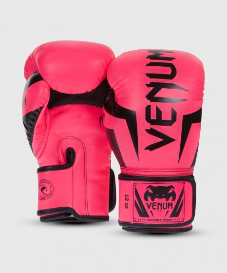 Venum Elite Boxing Gloves - Pink