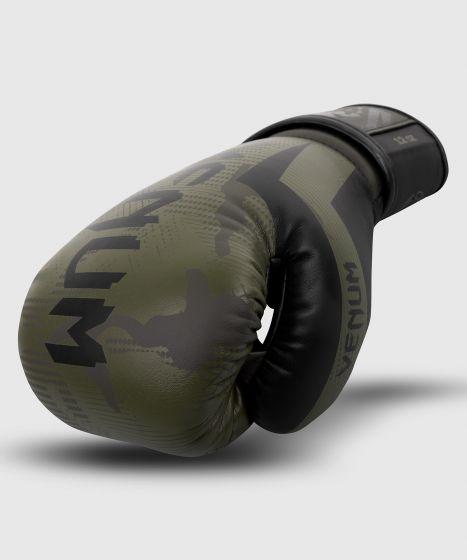 Боксерские перчатки Venum Elite  - Хаки камуфляж