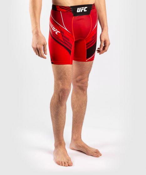 UFC Venum Authentic Fight Night Men's Vale Tudo Shorts - Short Fit - Red