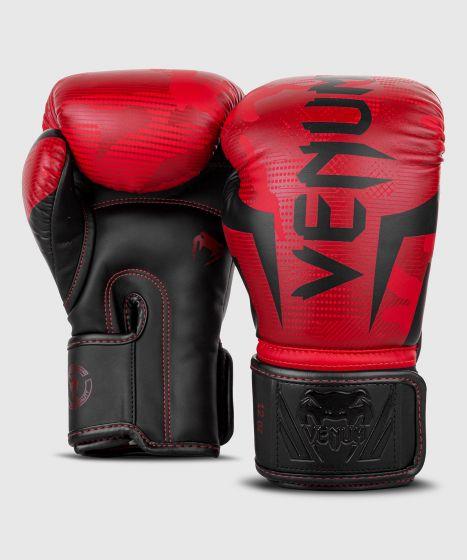 Боксерские перчатки Venum Elite  - Красный камуфляж